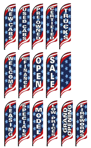 Swooper Flag-Pole Kit-Patriotic