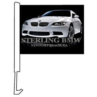 Clip on Car Flags - Custom