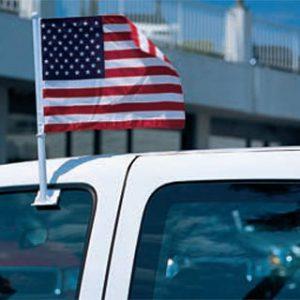 Clip on U.S. Flag