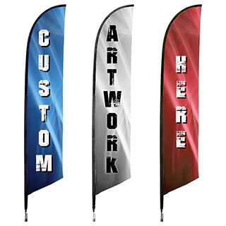 Custom Swooper-Feather Flags