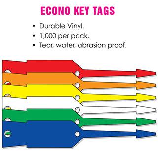 Econo Key Tags