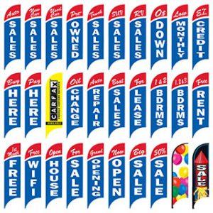 Feather Flag - Pole Kit - RWB