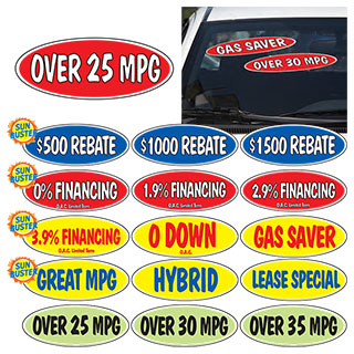 Oval Incentive Slogans