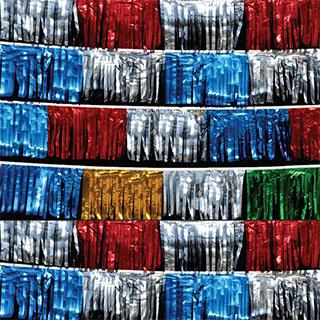 60 foot Metallic Pennants