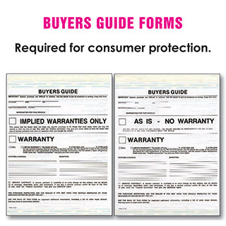 Buyers Guide Forms