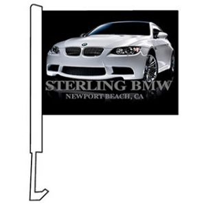 Clip on Car Flags - Custom